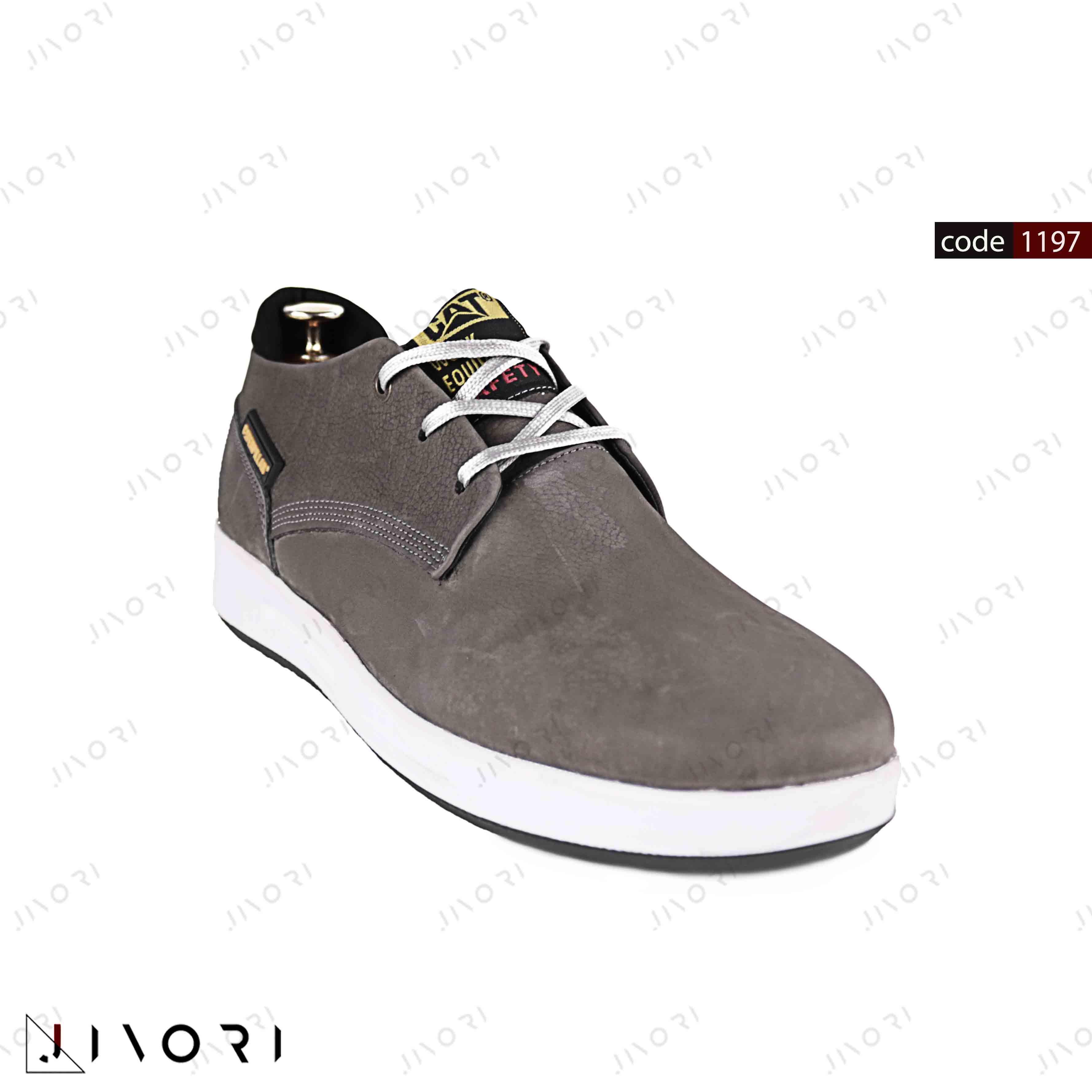 کفش کت مردانه طوسی (1197)