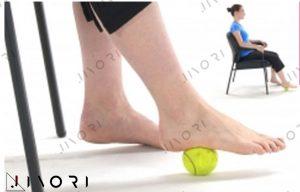 درمان با توپ تنیس