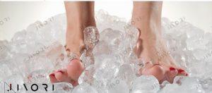 درمان با یخ